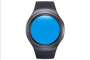 Samsung Gear S2 Black Mockup 0