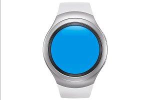 Samsung Gear S2 White Mockup 0