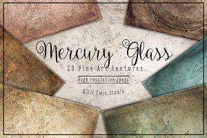 Mercury Glass Fine Art Textures