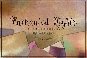 Enchanted Lights Fine Art Textures