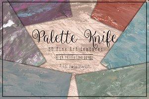 Palette Knife Fine Art Textures