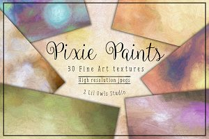 Pixie Paints Fine Art Textures