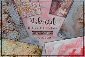 Waxed fine Art Textures