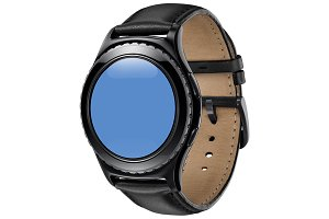 Samsung Gear S2 Leather Mockup 1