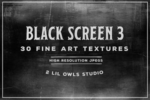 Black Screen 3 Fine Art Textures
