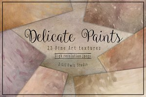Delicate Paints Fine Art Textures