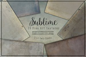 Sublime Fine Art Textures