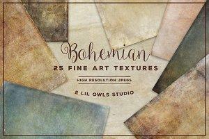 Bohemian Fine Art Textures