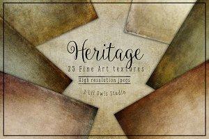 Heritage fine art textures