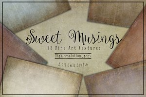 Sweet Musings fine art textures