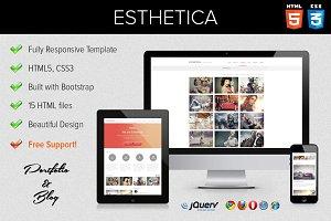 Esthetica - HTML5 & CSS3 Portfolio