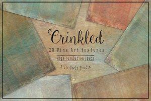 Crinkled Fine Art Textures