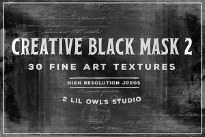 Creative Black Mask set 2