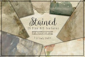 Stained (canvas collection) Fine Art