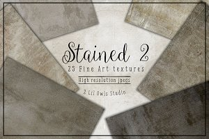Stained 2 (Plaster collection) Fine