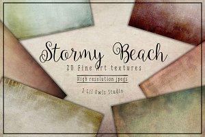 Stormy Beach Fine Art Textures