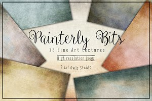 Painterly Bits Fine Art Textures