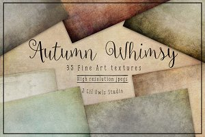 Autumn Whimsy Fine Art Textures