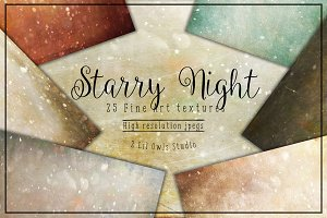 Starry Night Fine Art Textures
