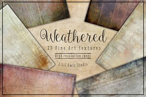 Weathered Fine Art Textures