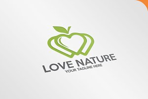 Love Nature - Logo
