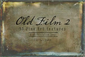 Old Film Set 2 - Fine Art Textures