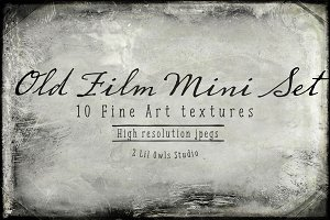 Old Film Mini Set - Fine Art Texture