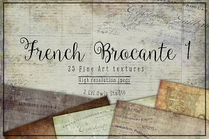 French Brocante Fine Art Textures