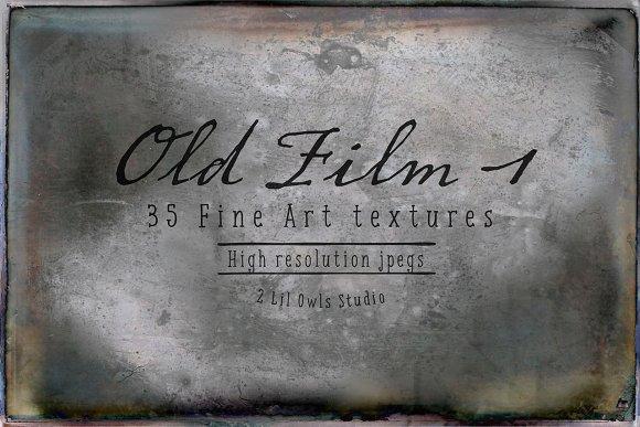Old Film Set 1 Fine Art Textures Textures Creative Market