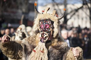 Traditional Carnaval Mask,Bulgaria