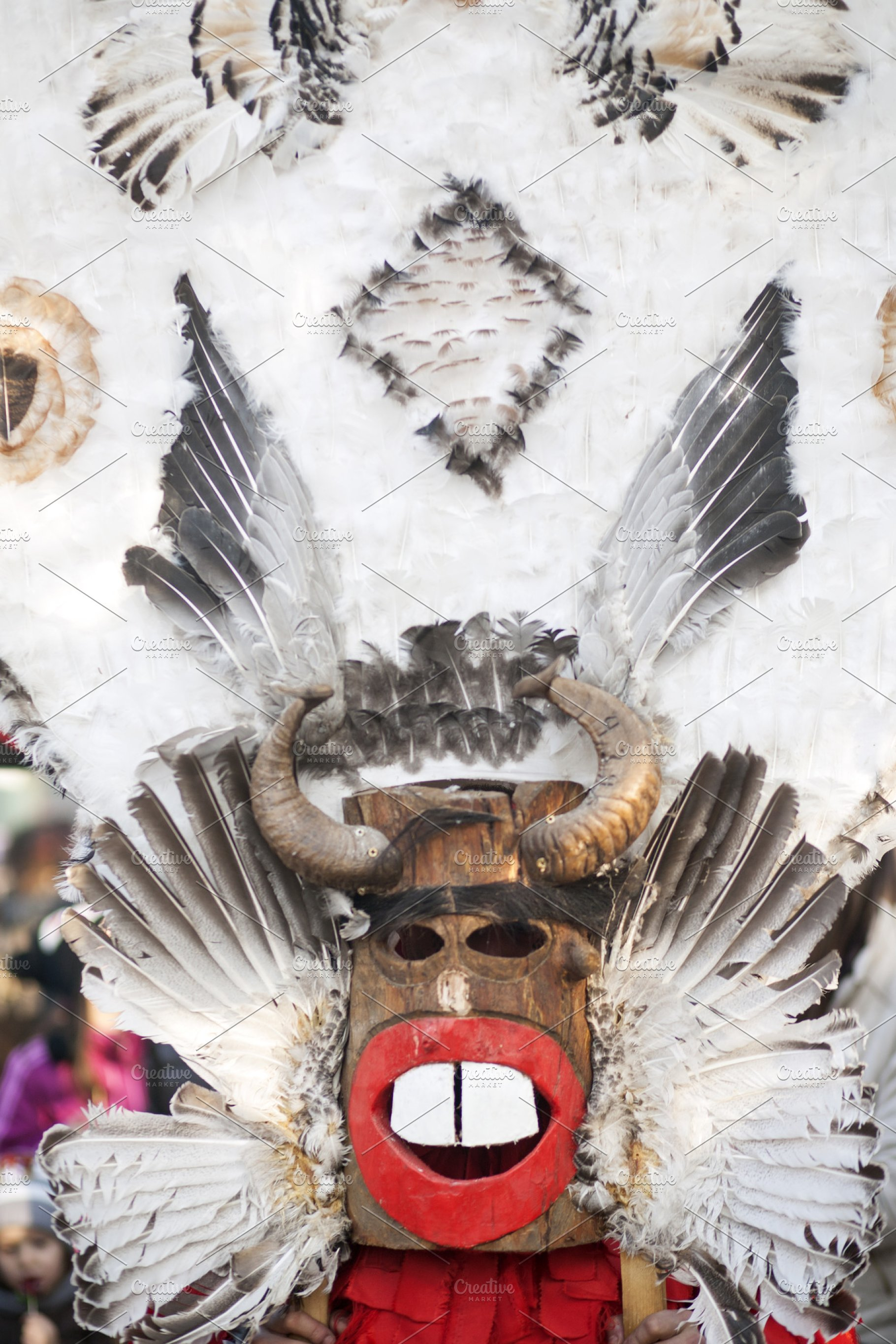 Traditional Carnaval Mask (Vertical)