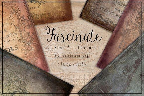 Fascinate Fine Art Textures