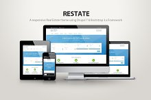 Restate - A real estate drupal theme by  in Web Themes