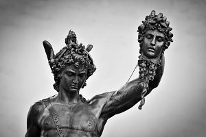Perseus with the Head of Medusa.