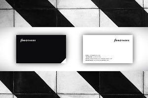Clean Business Cards Template