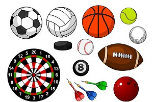Sport items and balls