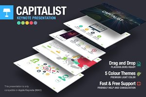 Capitalist Keynote Template