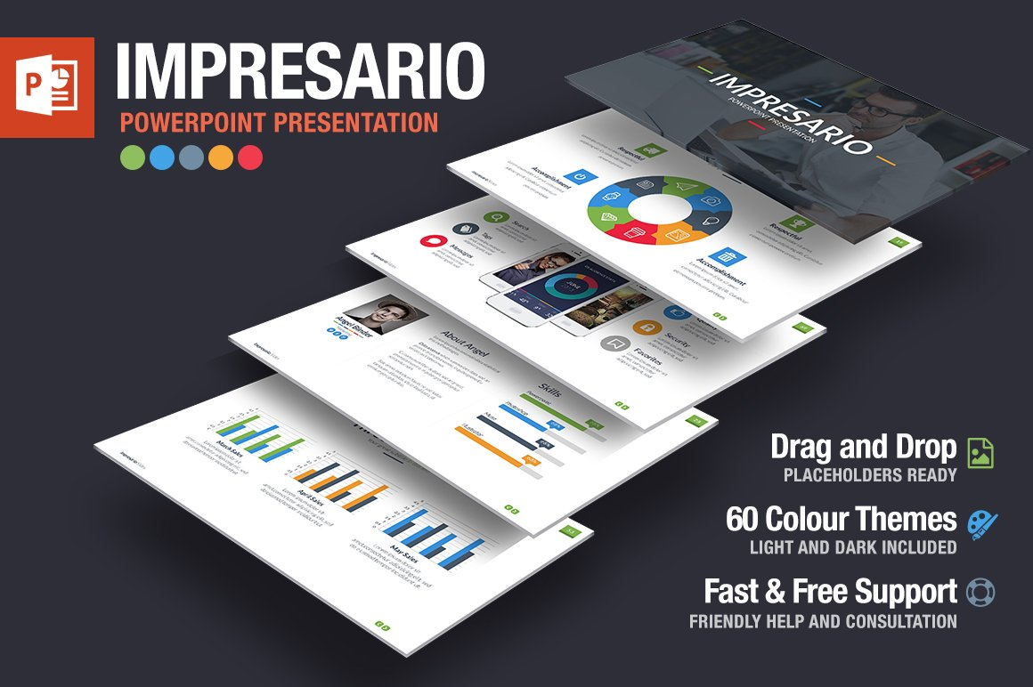 Impresario Powerpoint Template ~ Presentation Templates ~ Creative ...