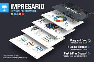Impresario Keynote Template