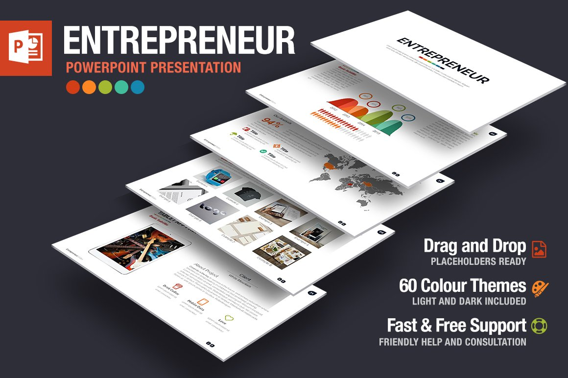 Entrepreneurship business plan powerpoint templates