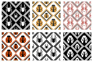 Set of Patterns with Insects