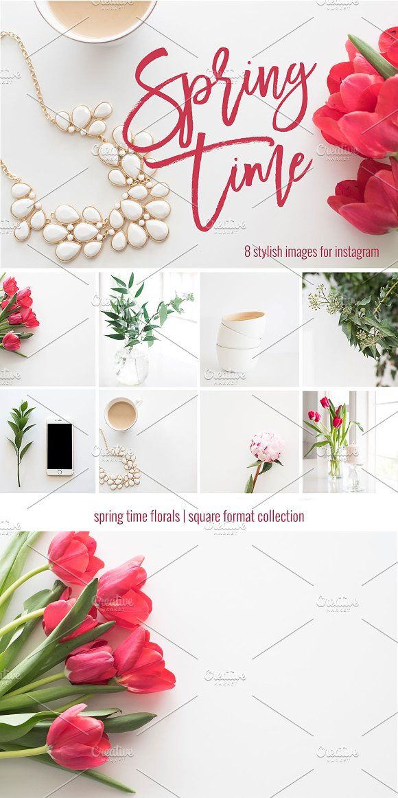 Stock Photos | 8 Floral Images