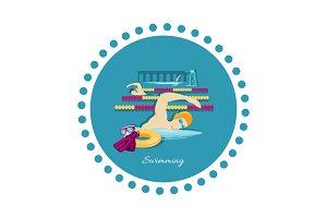Swimming Sport Concept