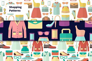 Seamless shopping patterns
