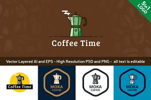 Coffee Time - Coffee Logo Template