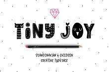 Tiny Joy Font - Scandinavian & Kids