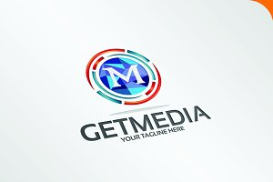 GetMedia - Logo