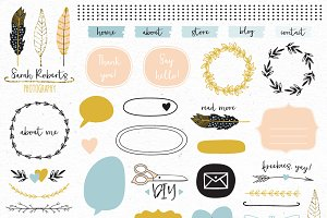Design elements blog kit