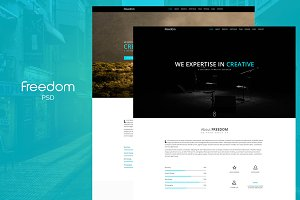 Freedom PSD Template