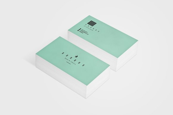 Bar bar business card business card templates creative market reheart Images